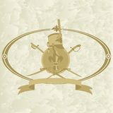 Ussaro emblem-2 Immagine Stock