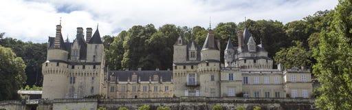 Usse城堡在Loire Valley, Rigny-Usse,法国 免版税库存照片