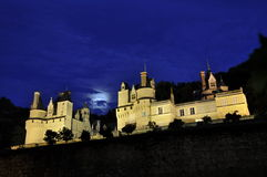 Usse Castle Royalty Free Stock Photos
