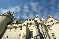 Usse Castle, Loire Valley, France Royalty Free Stock Photos