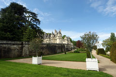 Usse Castle, Loire Valley, France Stock Images