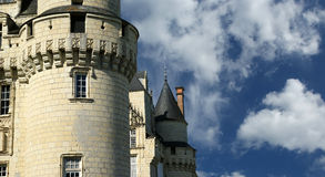 Usse Castle, Loire Valley, France royalty free stock photography