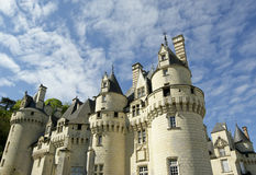Usse Castle, Loire Valley, France Stock Photography