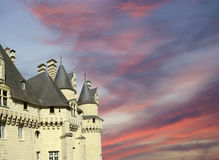 Usse Castle, Loire Valley, France Royalty Free Stock Photo