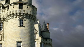 Usse Castle, Loire Valley, France --also known as Sleeping Beauty's Castle stock footage