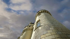 Usse Castle, Loire Valley, France --also known as Sleeping Beauty's Castle stock video
