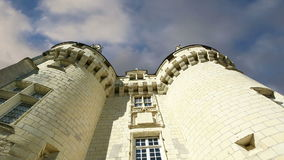 Usse Castle, Loire Valley, France --also known as Sleeping Beauty's Castle.  stock video footage