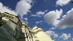 Usse Castle, Loire Valley, France --also known as Sleeping Beauty`s Castle stock video
