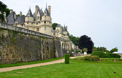 Usse castle in Loire Valley, France. Stock Image