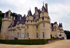 Usse castle in Loire Valley, France. Stock Photography