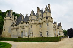Usse castle in Loire Valley, France. Royalty Free Stock Images
