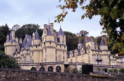 Usse chateau Royalty Free Stock Images