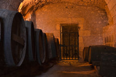 Usse wine cellar Stock Photo
