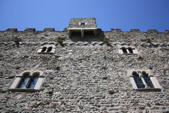 Ussel castle Royalty Free Stock Photo