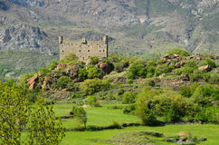 Ussel Castle - Chatillon (Aosta Valley) Royalty Free Stock Image