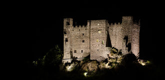 Ussel Castle, Chatillon, Aosta Valley royalty free stock image