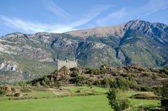 Ussel slott - Chatillon (Aosta Valley) Royaltyfria Bilder