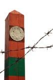The USSR boundary pillar Royalty Free Stock Image