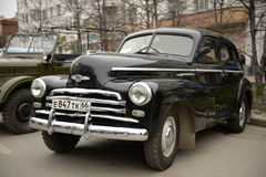 USSR car victory Stock Image