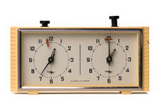 USSR chess clock royalty free stock photography