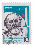 USSR - CIRCA 1964:A post stamp printed by Russia, shows portrait Stock Photos