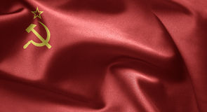 USSR flag Royalty Free Stock Photography