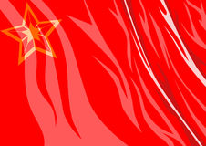 USSR Flag Royalty Free Stock Image