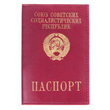 USSR passport cover Royalty Free Stock Photography
