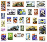 USSR Postage Stamps Stock Photography