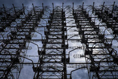 USSR Radar system array Royalty Free Stock Image