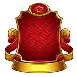 USSR retro style emblem. Royalty Free Stock Photo