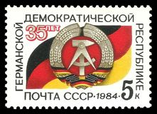 German Democratic Republic Stock Image