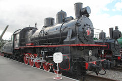 USSR steam loco Royalty Free Stock Image