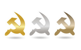 USSR Symbol Tag Set Stock Photos