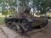 Ussr tank t-26 Stock Photos