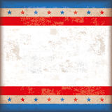 USStars Stripes Vintage White Centre Royalty Free Stock Photo