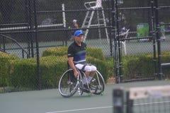 USTA轮椅冠军2018/Dwight戴维斯网球中心 免版税库存图片