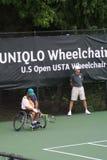 USTA轮椅冠军2018/Dwight戴维斯网球中心 库存图片