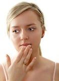 usta do pielęgnacji włosów Obraz Stock