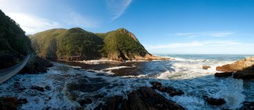usta park narodowy rzeka szaleje tsitsikamma Obraz Royalty Free