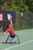 USTA-RULLSTOLMÄSTERSKAP 2018/Dwight Davis Tennis Center royaltyfri bild