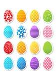 ustaleni Easter majchery Zdjęcie Stock