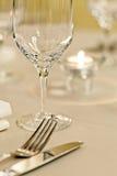 ustaleni posiłków stoły zdjęcia royalty free