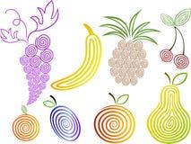 ustalenie owoców Fotografia Stock