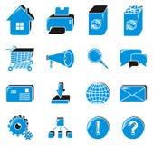 ustalona ikony sieć Zdjęcia Stock