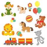 ustalona zabawka ilustracji