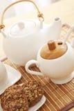 ustalona zbliżenie herbata Fotografia Stock