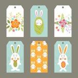 ustalone Easter etykietki Obrazy Royalty Free
