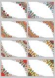 Ustalone retro karty Obraz Royalty Free