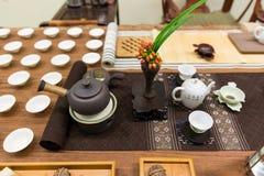 ustalonej zrobić herbatę Obrazy Stock